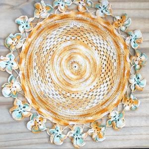Vintage Colorful Doily